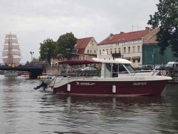zvejyba juroje laivo nuoma
